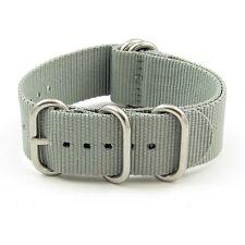 StrapsCo Heavy Duty 5 Ring Ballistic Nylon Military Watch Band Strap