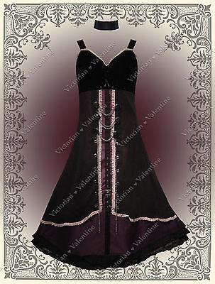 Steampunk Gown Victorian Edwardian Gothic Halloween Civil War Theater Dress 1X