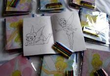 24 Disney Tinkerbell Coloring Book Crayon Girl's Party Favor Gift Bag Filler