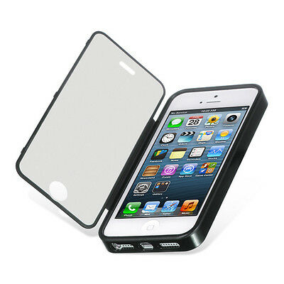 For Apple iPhone 5S TPU Wrap Up Phone Case Cover with Built In Screen Protector