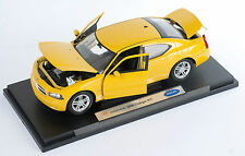 BLITZ VERSAND Dodge Charger R/T 2006 gelb yellow Welly Modell Auto 1:18 NEU OVP