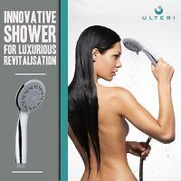 Bathtub 3 Spray Function Chrome Handheld Shower Head 60 Stainless Steel Hose