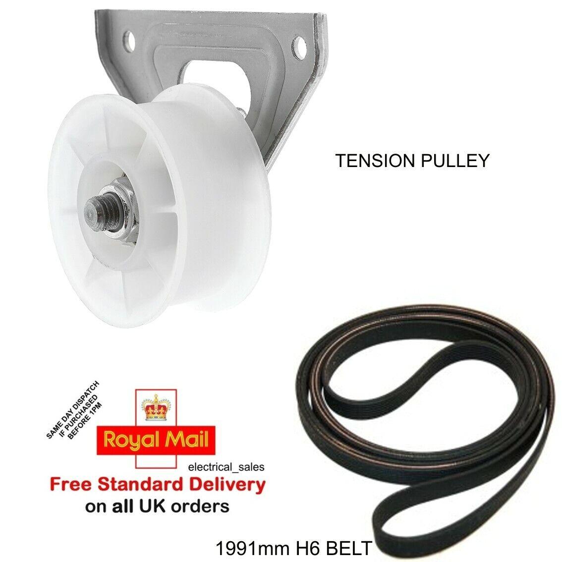 Jockey Tension Pulley Wheel for ARISTON Tumble Dryer 1991 H6 Drive Belt