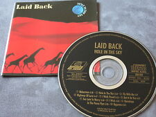 CD LAID BACK - HOLE IN THE SKY / TOP / FIRST PRESSING