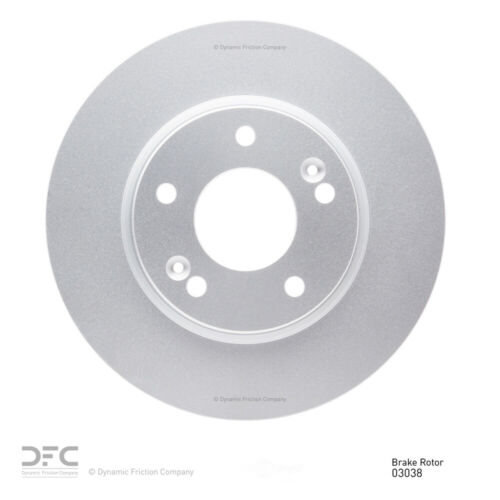 Disc Brake Rotor-Geospec Coated Rotor Front DFC 604-03038