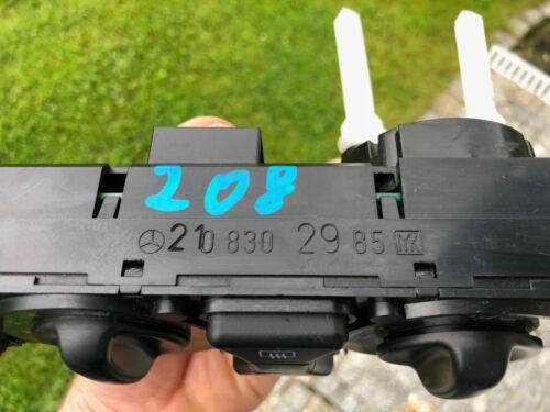 Mercedes W202 W208 CLK W210 SLK AC CONTROL CLIMATE UNIT 2108302985 OEM