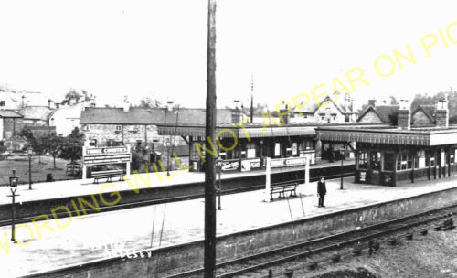 Arlesey Sandy Line Hitchin 1 Three Counties Railway Station Photo GNR.