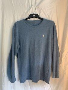 Mens-Ralph-Lauren-Long-Sleeve-T-Shirt-Medium