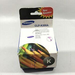 Samsung-CLP-K300A-XAA-CLP-K300A-Black-Toner-Cartridge-Brand-New-Sealed