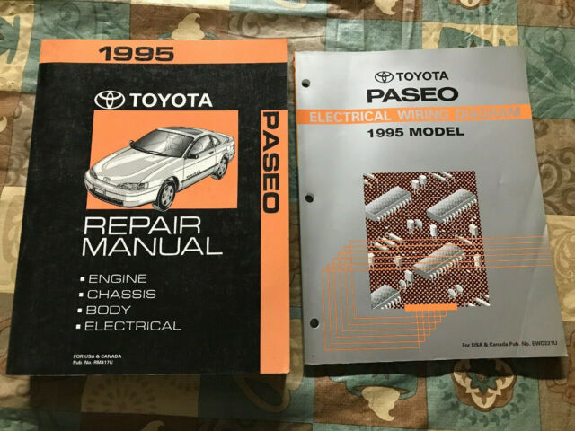 Toyota Paseo Repair Manual Electrical Wiring Diagram 1995