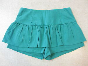 5d40c06db2 Women's MOOLOOLA Size 10 AU Mini Skort Green ExCon Skirt Shorts ...