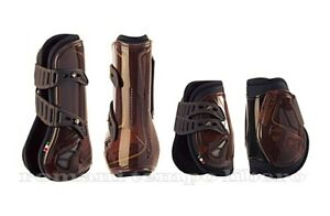 Set Tendon Boots And Fetlock ACAVALLO Opera Gel Lined +