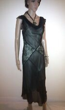 OASIS Evening Dress. Cocktail Party, Formal, Wedding. Long. Pure Silk    SIZE 10