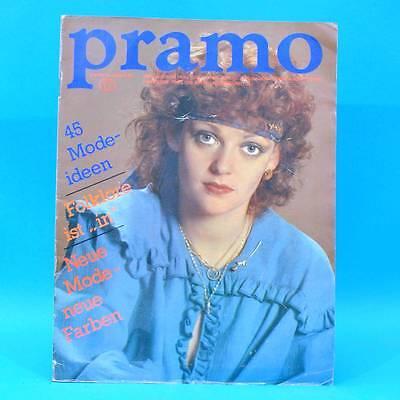 Pramo 8/1982 Praktische Mode Schnittmuster T Folklore Westen Jacken Hose Kinder Strukturelle Behinderungen