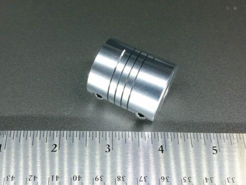 "1//4/"" x 1//2/"" Heavy Duty Flexible Motor Shaft Clamp Coupler Coupling 6.35 12.7 CNC"