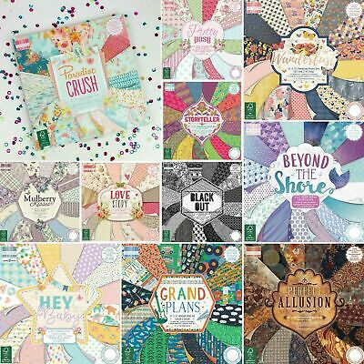 First Edition 6x6 Pick and Mix Sample 16 x 6 x 6 Paper Pack for cards or crafts