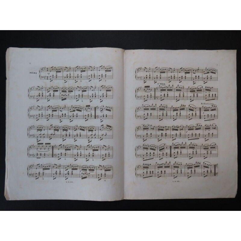 Juliano A P Würger Piano Ca1850 Partitur Sheet Music Score