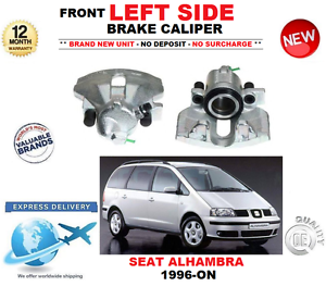 FOR SEAT ALHAMBRA 1996-ON FRONT LEFT NEW BRAKE CALIPER 1.8 1.9 TDi 2.0 2.8 V6