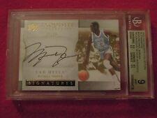 2012-13 Michael Jordan Upper Deck Exquisite Autograph Card Graded 9 Auto 10