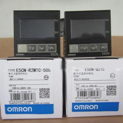 Omron E5CN-R2MTC-500 Temperature Controller 100-240VAC New In Box E5CNR2MTC500