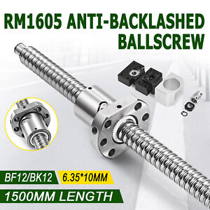 Ball-Screw-Ballscrew-RM1605-1500mm-BK-BF12-6-35-10mm-Couplers-for-CNC