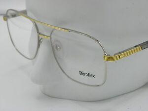 b005db07c5 New SFEROFLEX 2242 463 Mens Silver   Gold eyeglasses frames 57-17 ...