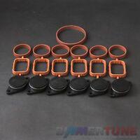 BMW swirl flap blanks 6 pcs 33mm and manifold gaskets 330d 530d 730d BIMMERTUNE
