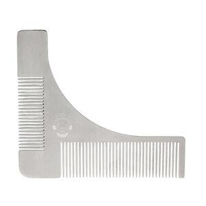 Pochoir-a-barbe-Beardilizer-en-acier-Traceur-de-contours