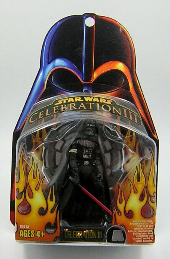 Star Wars Celebration III Talking Darth Vader SUPER RARE