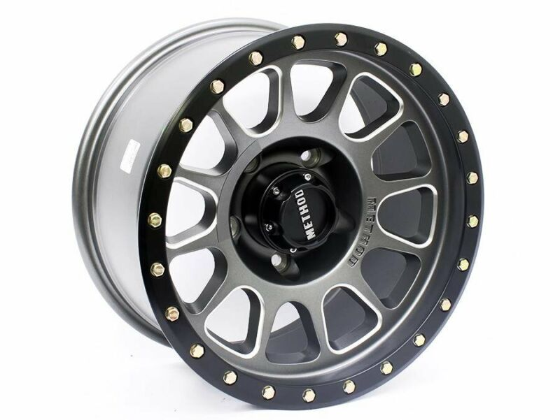 17 QS DeadLock 5/150 Gunmetal Matt black Alloy Wheels (set of 5) – 5/150 pcd – -12 offset – CB110.5
