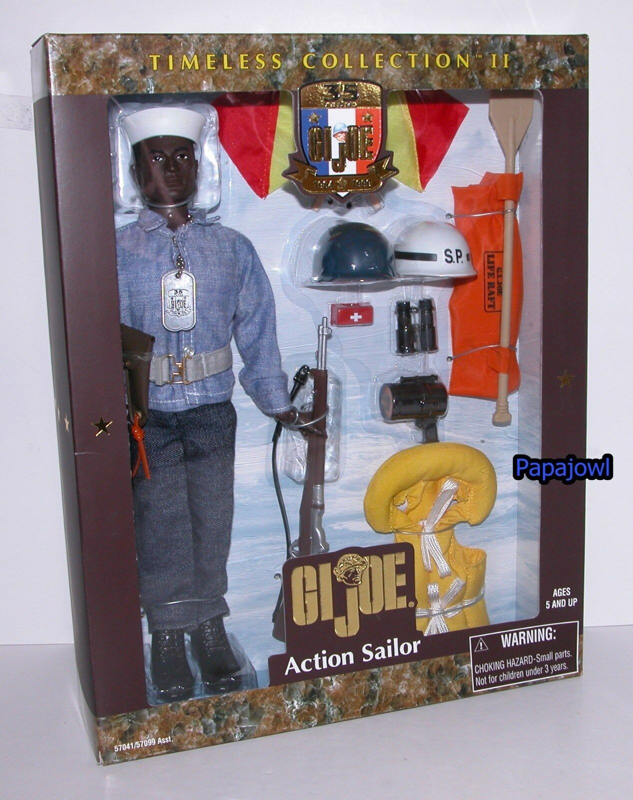 GI Joe Timeless Collection II Action Sailor With Gear 12  Action Figure 1999