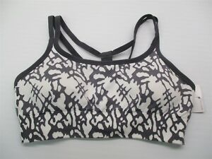 new-CHAMPION-C9-Sports-Bra-Women-039-s-Size-XS-Seamless-White-Gray-Racerback-BR2042
