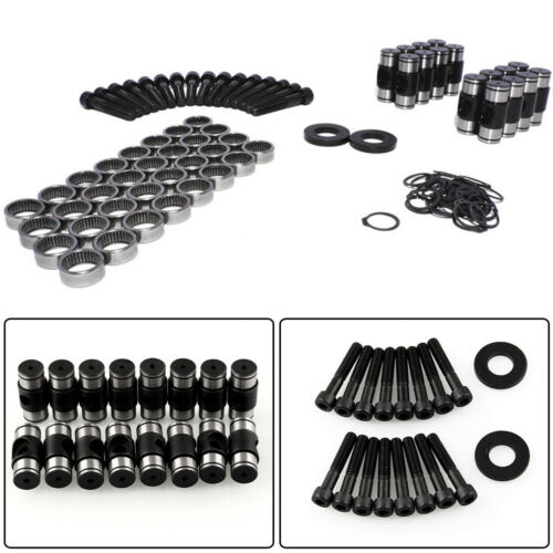 Engine Rocker Arm Trunion Kit w//Big Clips For 5.3L 6.0L 6.2L 7.0L LS1 LS3 LS7 US