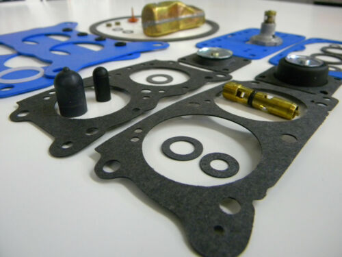 Holley Performance 2BBL Model 4412 7448 80787-1 80583-1 Carburetor Kit W// Float