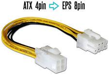 Cable d'Alimentation ATX 4pin vers EPS 8pin, adaptateur pour carte mère PSU, CPU