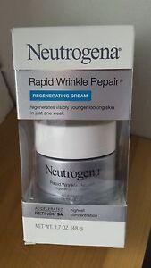 NEUTROGENA-Rapid-Wrinkle-Repair-REGENERATING-CREAM-NEW-damaged-box