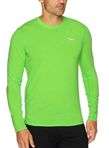 b79d6a97 Details about Saucony Freedom Size XL Extra Large Men's Long Sleeve  Athletic Top SAM800018