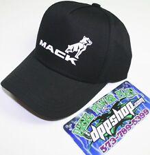 mack bulldog semi truck trucker hat ball cap winter bull diesel gear tractor dog