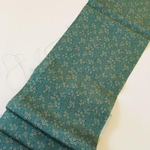 Ume Plum #C 7x56 Vintage Silk Japanese Kimono Fabric Authentic High Quality
