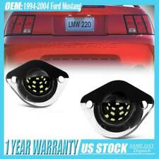 For 1994 2004 Ford Mustang Gt Bright Replacement Bumper License Plate Light Lr Fits Mustang