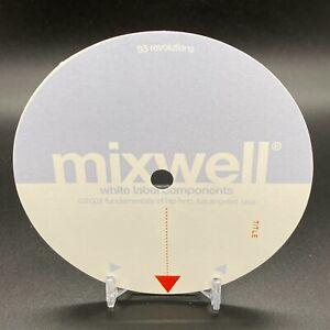 STICKERS-5-Mixwell-Fundamentals-Of-Hip-Hop-Los-Angeles-USA-OG-NEW