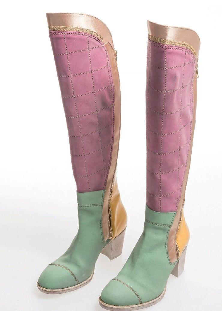 il più recente Elisa CAVALETTI CAVALETTI CAVALETTI Stivali stivali ORGANZA Cady tg. 38, 40  Koll. hw17 18  Echt Leder  risparmia il 50% -75% di sconto