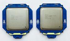 Matched Pair Intel Xeon E5-2660 SR0KK- 2.2GHz Eight Core Processors