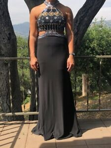 Details about black prom dress size 0