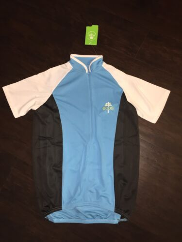 Womens ECOS Cycling Jersey Turquoise $50 L Large