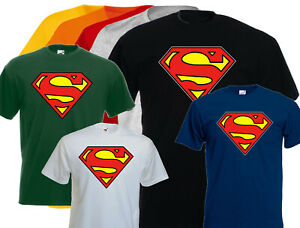 DC Comic Official Superman Shield Womens T-Shirt Femme