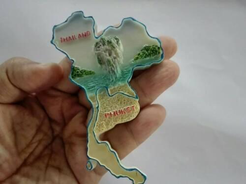PHUKET THAILAND 3D FRIDGE MAGNET SOUVENIR KITCHEN TRAVEL TOURIST GIFT  Souvenir