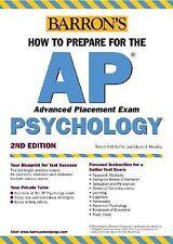 How to Prepare for the AP Psychology (Barron's AP Psychology Exam) McEntarffer,