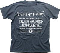 Tshirt Creed Full Metal Jacket parody funny this is my rifle grey tshirt TC9490