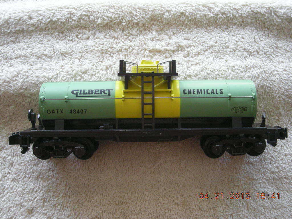 48407 Gilbert Chemicals Tank Car New In Box